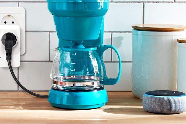 """Alexa, mach Kaffee!""- Das muss dank WLAN-Steckdose kein Traum bleiben"