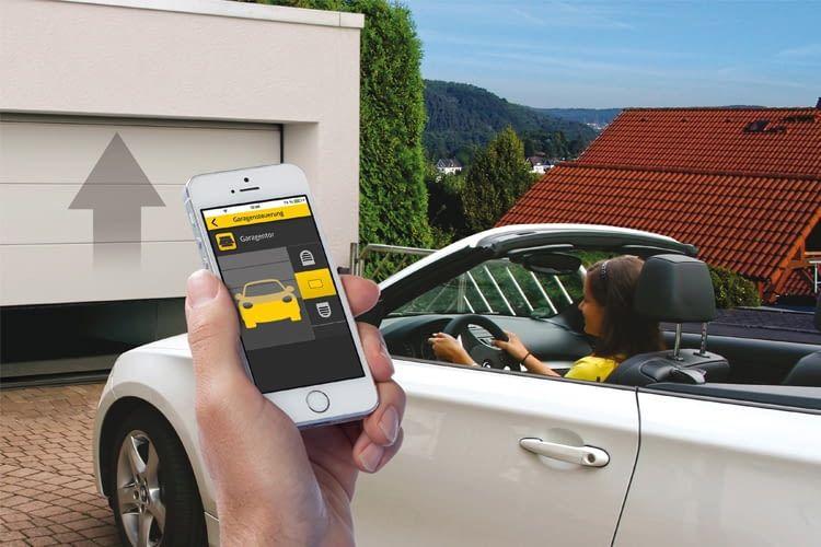 Garage per Smartphone öffnen? Kein Problem mit dem Schellenberg Smart Home System 2018