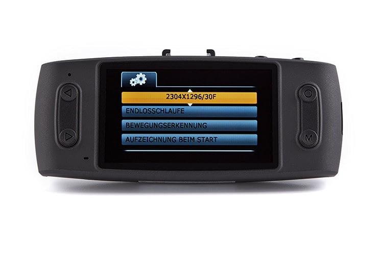 iTracker GS6000-A12 lässt sich dank großem 2,7 Zoll-Display komfortabel bedienen