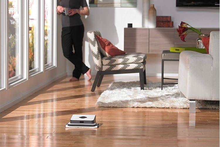 Von iRobot Braava 390t gibt es Modelle für kleine oder große Flächen