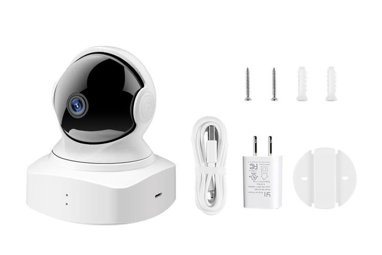 Die 1080p dome camera lässt sich überall installieren