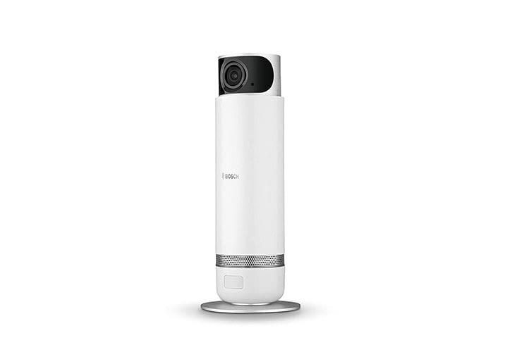 Bosch Smart Home 360 Grad-Innenkamera mit Mikrofon und Lautsprecher