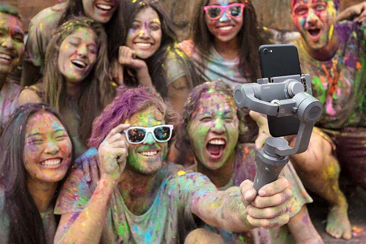 DJI Osmo Mobile 2 für perfekte Selfies und ruckelfreie Videos