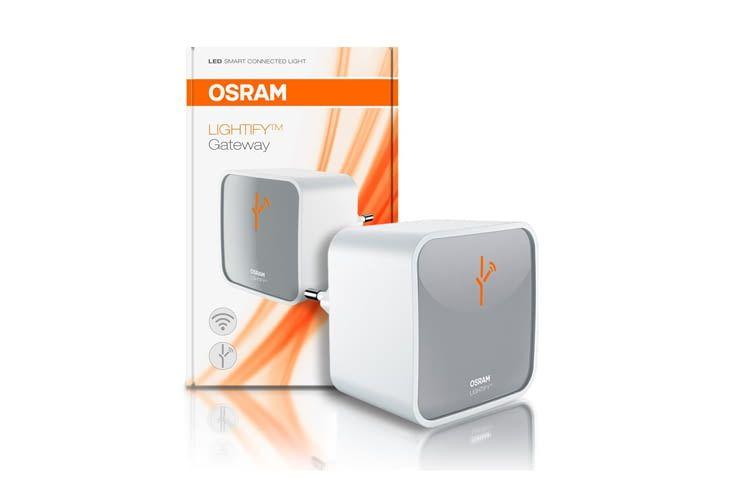 Mit dem OSRAM LIGHTIFY Gateway lassen sich bis zu 50 Komponenten vernetzen