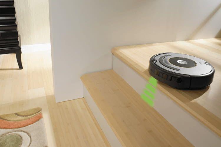 Die Absturzsensoren von Roomba 615 und Roomba 616 funktionieren zuverlässigen