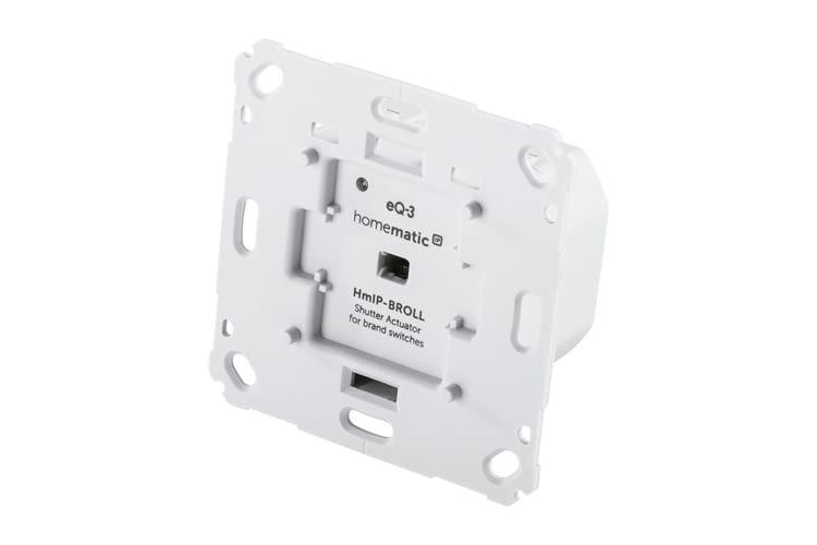 Homematic IP Rollladenaktor für Markenschalter ist ein Unterputzaktor für Rollläden und Markisen