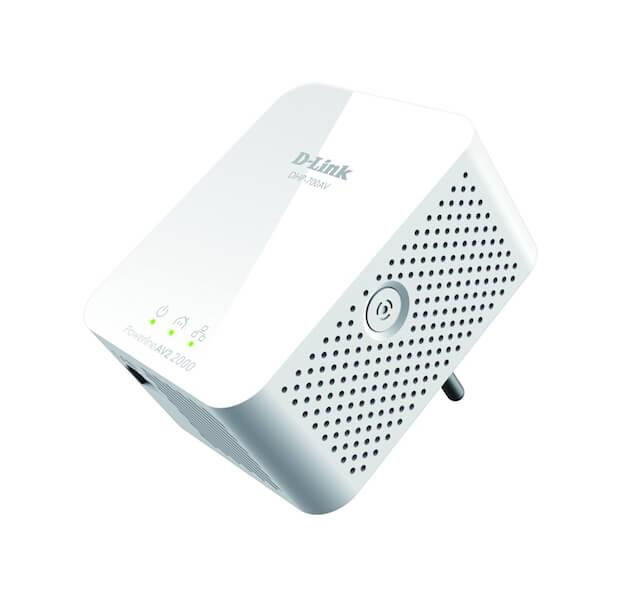 Der D-LINK 2000Mbit Powerline AV2 Adapter für ein schnelles Heimnetz