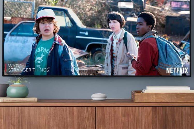 Mit Google Chromecast lässt sich Netflix über Google Home Mini sprachsteuern