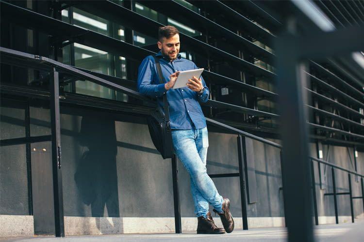 Auch für Business-Anwendungen sind Tablets mit Tarif eine gute Lösung