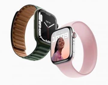 Die Apple Watch Series 7 besitzt das bisher größte Display der Smartwatch-Reihe von Apple
