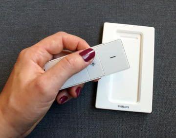Mit HomeKit Schaltern lässt sich z. B. das Licht flexibel dimmen