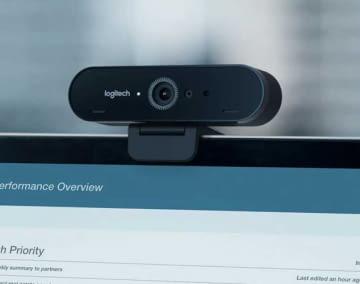 Die Logitech Brio ULTRA-HD PRO Webcam streamt in 4K UHD, benötigt jedoch einen leistungsstarken Computer