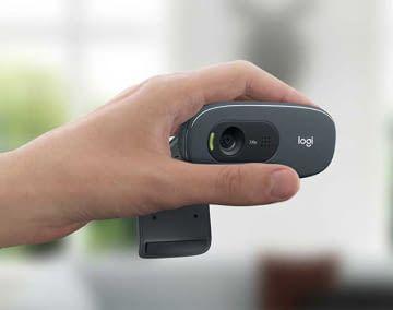 Kompakt, einfach und gut - die Logitech C270 HD Webcam