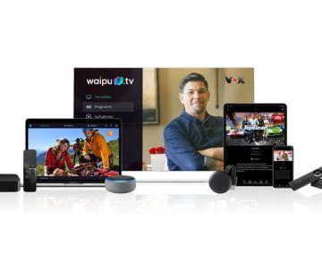 waipu.tv Inhalte sind über viele verschiedene Geräte abrufbar