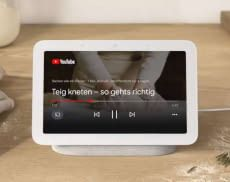 Google Nest Hub 2 streamt auf Wunsch auch YouTube Videos