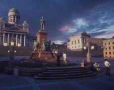 Mit dem VR-Projekt Virtual Helsinki bietet Zoan Touristen ein futuristisches Highlight