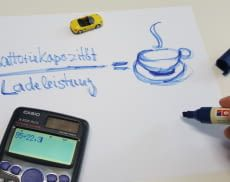 Die Ladezeit kann gut für eine Kaffepause genutzt werden