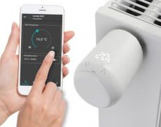 Das Eurotronic Comet Wifi Thermostat lässt sich bequem per App ansteuern