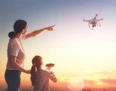 Viele Drohnen eignen sich bereits für Kinder ab 6 Jahren