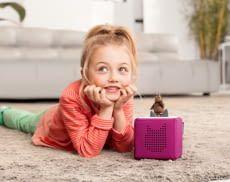Eine kindgerechte Musikbox verspricht langanhaltendes Spiel- und Hörvergnügen