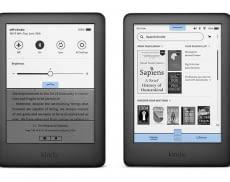 Das bringt das Kindle eBook-Rader Update: Links die neuen Schnellstart-Funktionen, rechts der neue Aufbau der Startseite