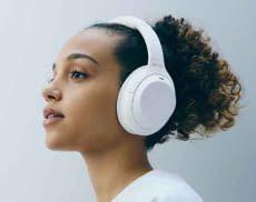 Noise Cancelling-Kopfhörer WH-1000XM4 in limitierter Silent White Edition unterstützt 360 Reality Audio