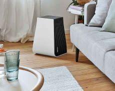 Setzt Design-Akzente im Wohnraum - der Luftwäscher Stadler Form George