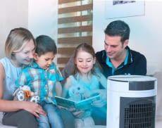 Mini-Klimaanlagen liefern an heißen Tagen schnelle Abkühlung