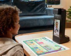 Mit Amazon Glow überwinden Freunde und Familienmitglieder spielerisch Entfernungen zu Kindern