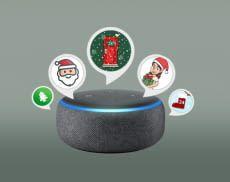 Über Alexa-Geräte lassen sich viele verschiedene Adventskalender-Funktionen nutzen