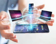 Im Internet der Dinge kommunizieren Geräte automatisch