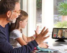 Video-Telefonate mit Amazon Echo Show bringen entfernte Menschen zusammen
