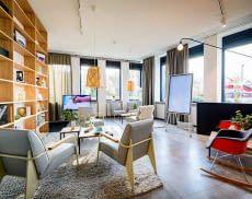 Im Samsung Connected Living Showroom in Schwabach können Besucher einen Blick in die Zukunft werfen