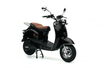 Nova Motors Elektroroller eRetro Star heißt das von ALDI Süd angebotene E-Roller Modell