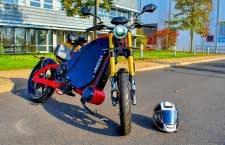 eROCKIT ist ein Elektromotorrad mit Pedalen und offizieller Straßenzulassung