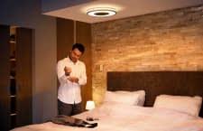 Das Philips White Ambiance sorgt im Schlafzimmer für die richtige Lichtstimmung