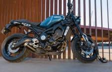 Ein Motorrad sollte immer an ein festes Objekt angeschlossen werden