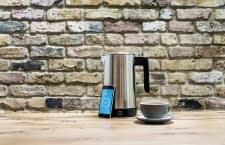 Der smarte iKettle 2.0 Wi-Fi Wasserkocher kann per Smartphone-App gesteuert werden
