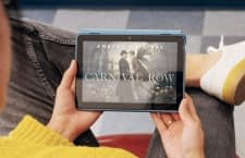Dank schnellerer Aufladung bieten die neuen Tablets längeres Film- und Lesevergnüngen