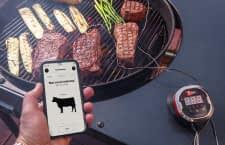 Smarte Thermometer und die iGrill App helfen beim Grillen