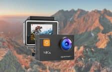 Die A80 Actionkamera ist mit rund 350 Gramm besonders leicht