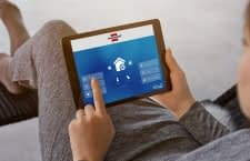 Das smarte Sicherheits-System BrematicPRO lässt sich per App verwalten