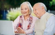 Moderne Smart Home Technik hält Senioren fit