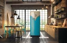 Der Retro-Kühlschrank von Gorenje sieht aus wie ein Bulli, riecht aber anders