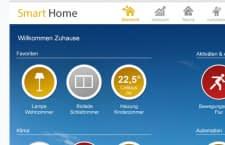 GreenPocket Smart Home App auf Smartphone und Tablet