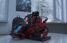 Warnt mit der richtigen Szene bei Frost im Raum: ROBOTICS TXT Smart Home Baukasten
