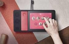 Abbildung des Ily Smart Home Phone in der Seitenansicht