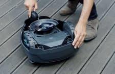 GARDENA Mähroboter sind dank ihrer robusten Konstruktion und wassergeschütztem Gehäuse einfach zu pflegen