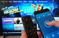 Mit der Fire TV App navigieren Nutzer per Wisch-Bewegung durch das Streaming-Angebot