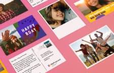 Mit MyPostcard lassen sich echte Postkarten online verschicken